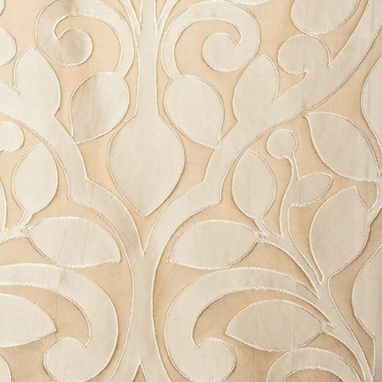 Softline Lavanda Drapery Panels adds a beautiful touch to your home - Champagne.