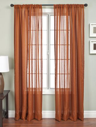 Softline Lithia Stripe Drapery Panels is available in 8 color combinations.