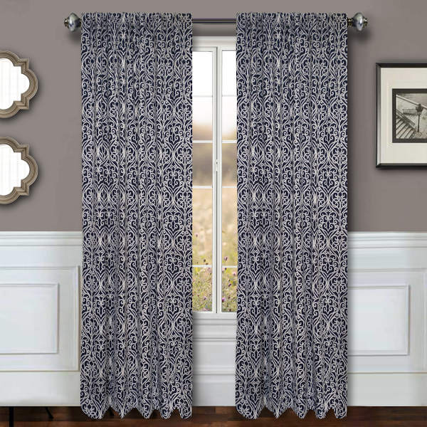 Softline Home Fashions Drapery Livingston Panel and Pillow - HERE