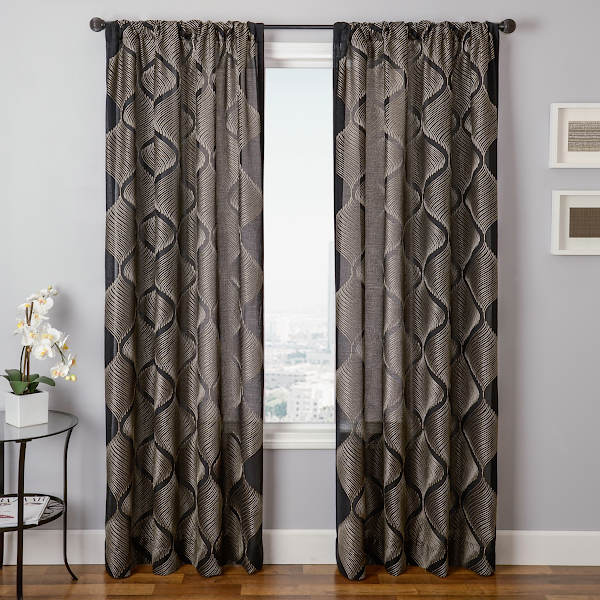 Softline Home Fashions Drapery Melbourne Interlined Panel