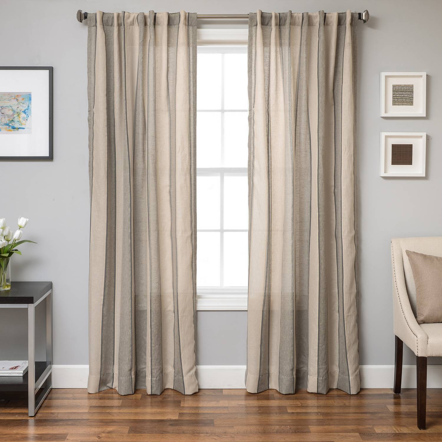 panels velvet free home overstock on panel over product luxe shipping garden curtain orders