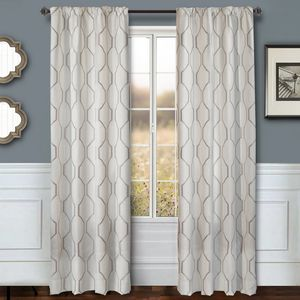 Softline Home Fashions Drapery Montclair Panel