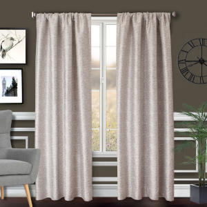Softline Home Fashions Drapery Morgan Solid Panel (6 or More)
