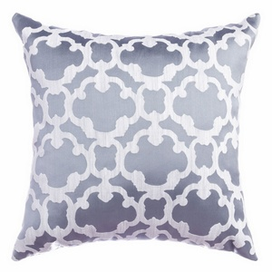 Softline Home Fashions Palmira Tile Decorative Pillow in Ocean color.