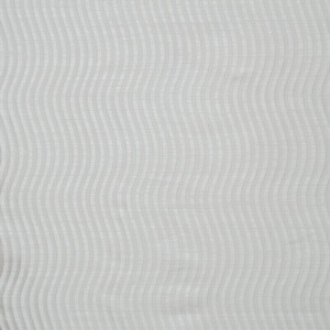 Softline Home Fashions Palmira Drapery Panels Swatch in White color.
