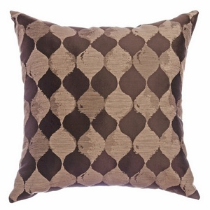 Softline Home Fashions Palmira Decorative Pillow in Designer Brown color.