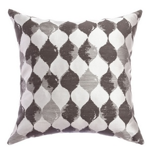 Softline Home Fashions Palmira Decorative Pillow in Designer Grey color.