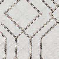 Softline Quail Drapery Panels displays a beautiful geometric design.