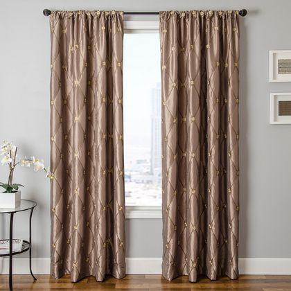 Softline Rachelle Drapery Panels are available in 16 color choices.