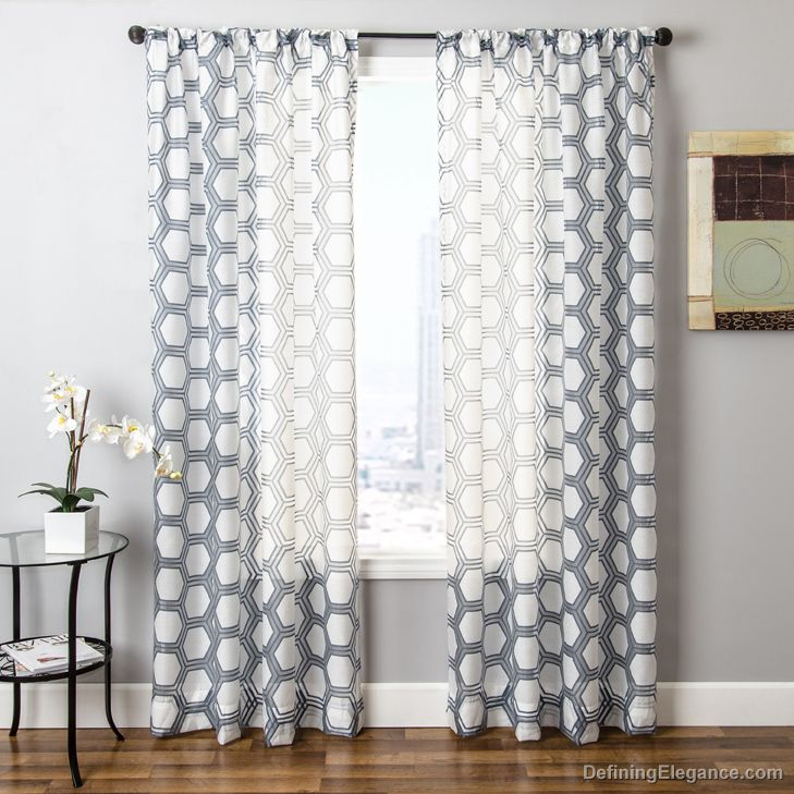 softline rocco drapery panels are available in 5 color - Drapery Panels