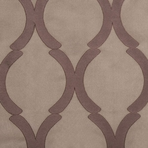Softline Home Fashions Savannah Drapery Panels Swatch in color.
