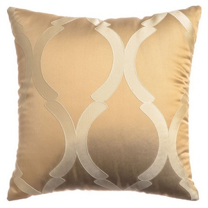 Softline Home Fashions Savannah Decorative Pillow in Champagne color.
