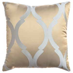 Softline Home Fashions Savannah Decorative Pillow in Haze color.