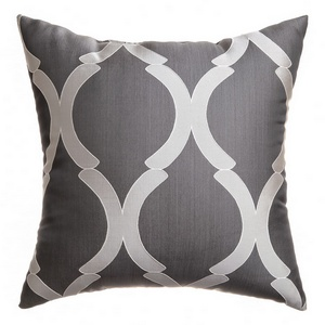Softline Home Fashions Savannah Decorative Pillow in Pewter color.