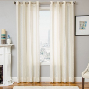 Softline Home Fashions St Helens Drapery Panels in Beige color.
