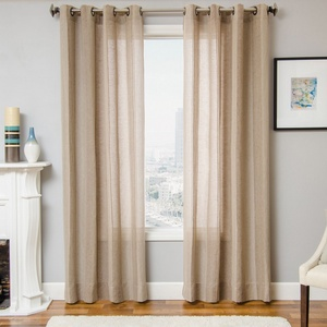 Softline Home Fashions St Helens Drapery Panels in Chocolate color.