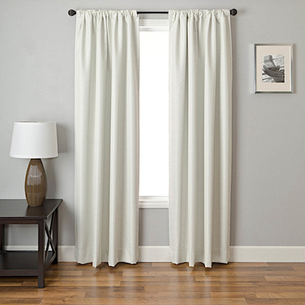 Softline Stored Sheer Drapery Panels is available in 17 colors.