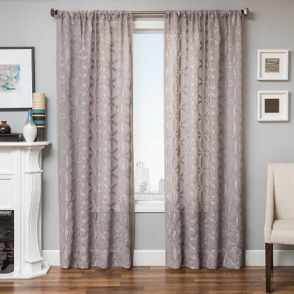 Softline Home Fashions Struga Drapery Panels are Lined, unlined, and interlined drapery panels in different color choices.
