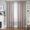 Softline Home Fashions Struga Drapery Panels in Light Gray color.