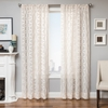 Softline Home Fashions Struga Drapery Panels in Natural color.