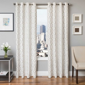 Softline Home Fashions Quail Drapery Panels in Champagne color.
