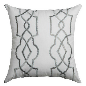 Softline Home Fashions Quail Decorative Pillow in Haze color.