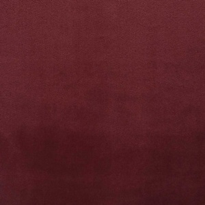 Softline Home Fashions Terni Solid Drapery Panels Swatch in Crimson color.