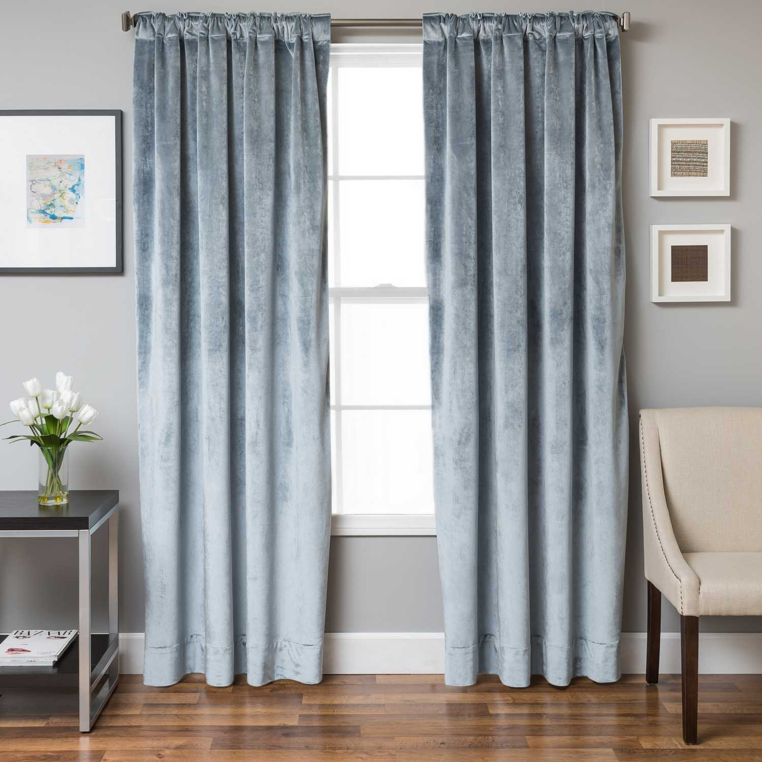 Softline home fashions drapery terni solid panel - Benefits of light colored upholstery and curtains ...