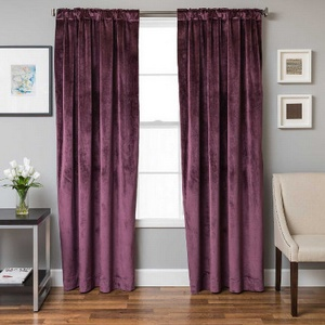 Softline Home Fashions Terni Solid Drapery Panels are available in 9 color combinations.