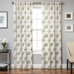 Softline Home Fashions Turin Drapery Panels & Decorative Pillows contemporary design will improve the surroundings of any room.