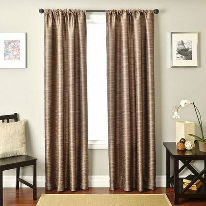 Softline Tuscany Solid Drapery Panels is available in 11 color combinations.