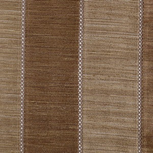 Softline Tuscany Stripe Drapery Panels are available in many color combinations - Chestnut Mocha.