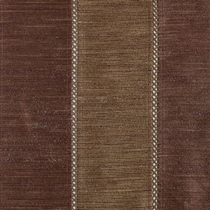 Softline Tuscany Stripe Drapery Panels are available in many color combinations - Mocha Espresso.