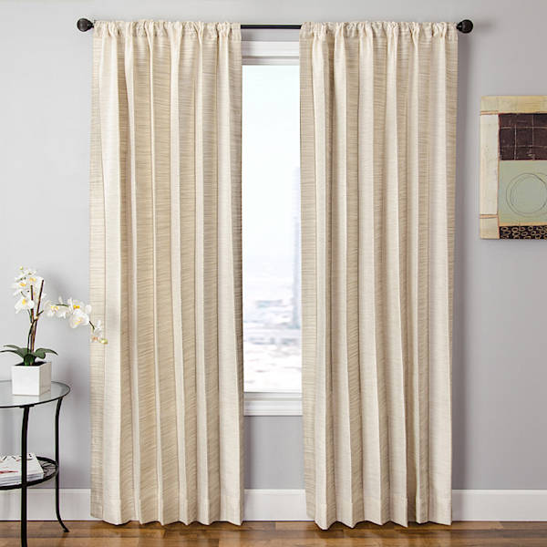 Softline Home Fashions Drapery Tuscany Stripe Panel