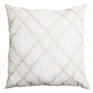 Softline Home Fashions Zermatt Decorative Pillow in Champagne color.