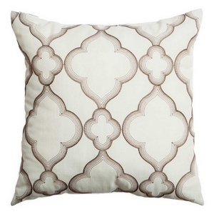 Softline Home Fashions Zermatt Decorative Pillow in Latte color.