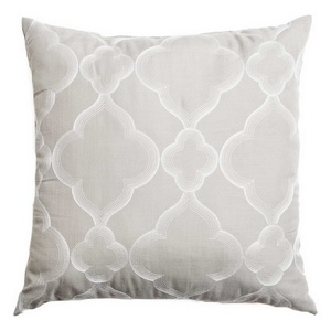 Softline Home Fashions Zermatt Decorative Pillow in Light Grey color.