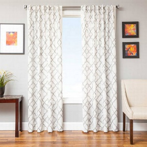 Softline Home Fashions Zermatt Drapery Panels are Lined, unlined, and interlined drapery panels in different color choices.