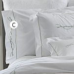 Tradition Linens Alana White Sheet Set