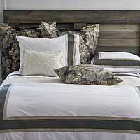 A look that is a little more formal, but not too much so, because even at when we�re in the city we want the comfort and easy living of Traditions Linens.