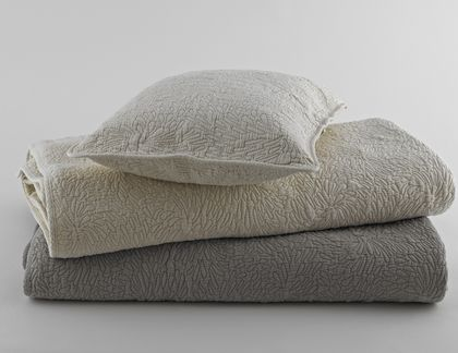 Traditions Linens Couture Matelasse Coverlet & Shams