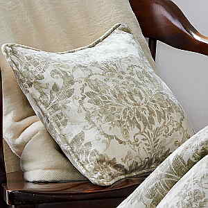 Traditions Linens Bedding Downton Corded Dec Pillow