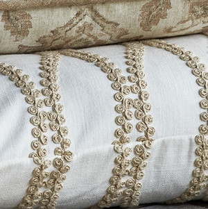 Traditions Linens Bedding Blossom Twine Sham