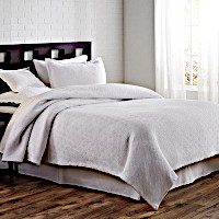 TL at home Flynn Coverlet and Shams