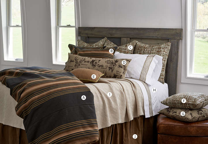 Discontinued Traditions Linens Bedding Lake House Collection