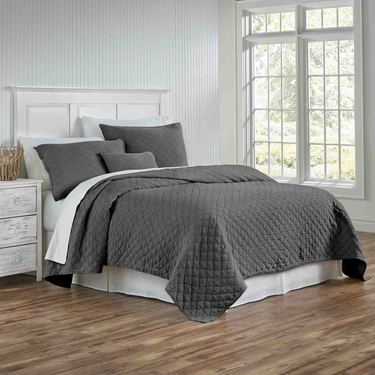 Traditions Linens Bedding Louisa Coverlet And Sham