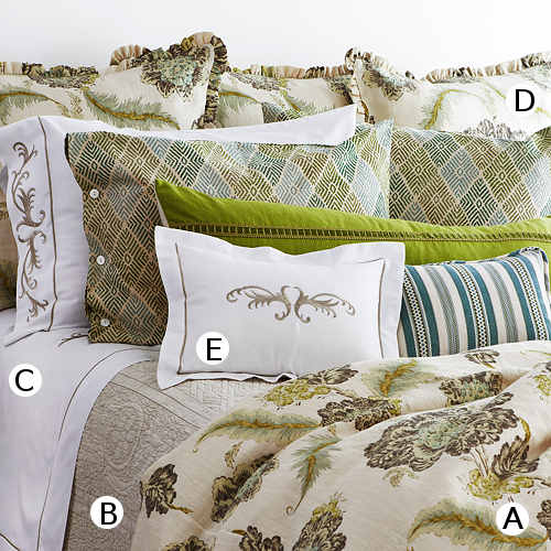 TL at home Bedding Lucerne Collection