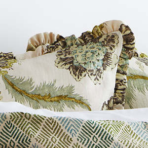 Traditions Linens Bedding Lucerne Ruffled Sham