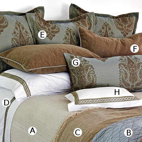 Traditions Linens Bedding Luminaria Collection