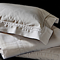 Made in Portugal by extraordinary tailors, this simple yet elegant pattern features a double hemstitch band detail giving a distinguished and thoroughly modern look to our finest 400 TC Italian cotton.